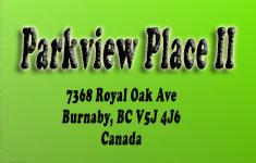 Parkview Place II 7368 ROYAL OAK V5J 4J6
