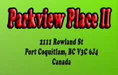 Parkview Place II 2111 ROWLAND V3C 6J4