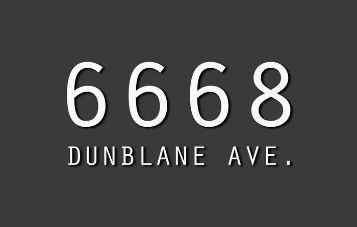6668 Dunblane 6668 DUNBLANE V5H 3K6