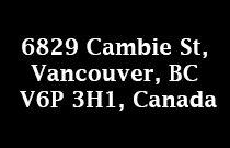 6829 Cambie 6829 Cambie V6P 3H1