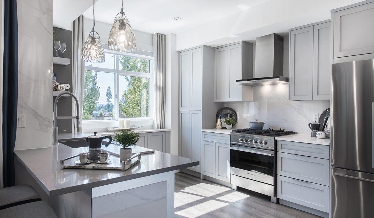 Kitchen Area - 3535 Princeton Ave, Coquitlam, BC V3E 3H1, Canada!