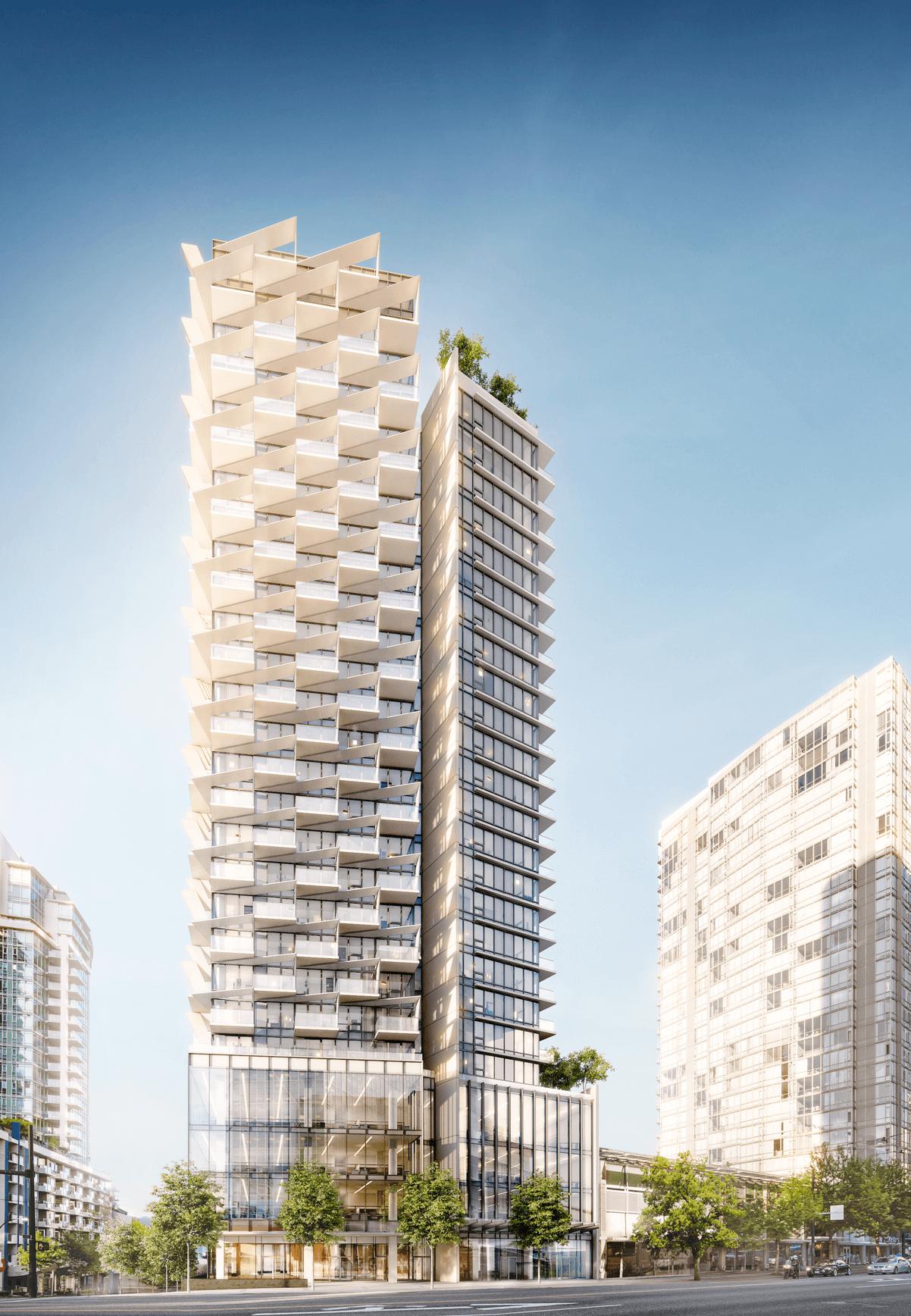 Building Exterior - 620 Cardero St, Vancouver, BC V6G 3V6, Canada!