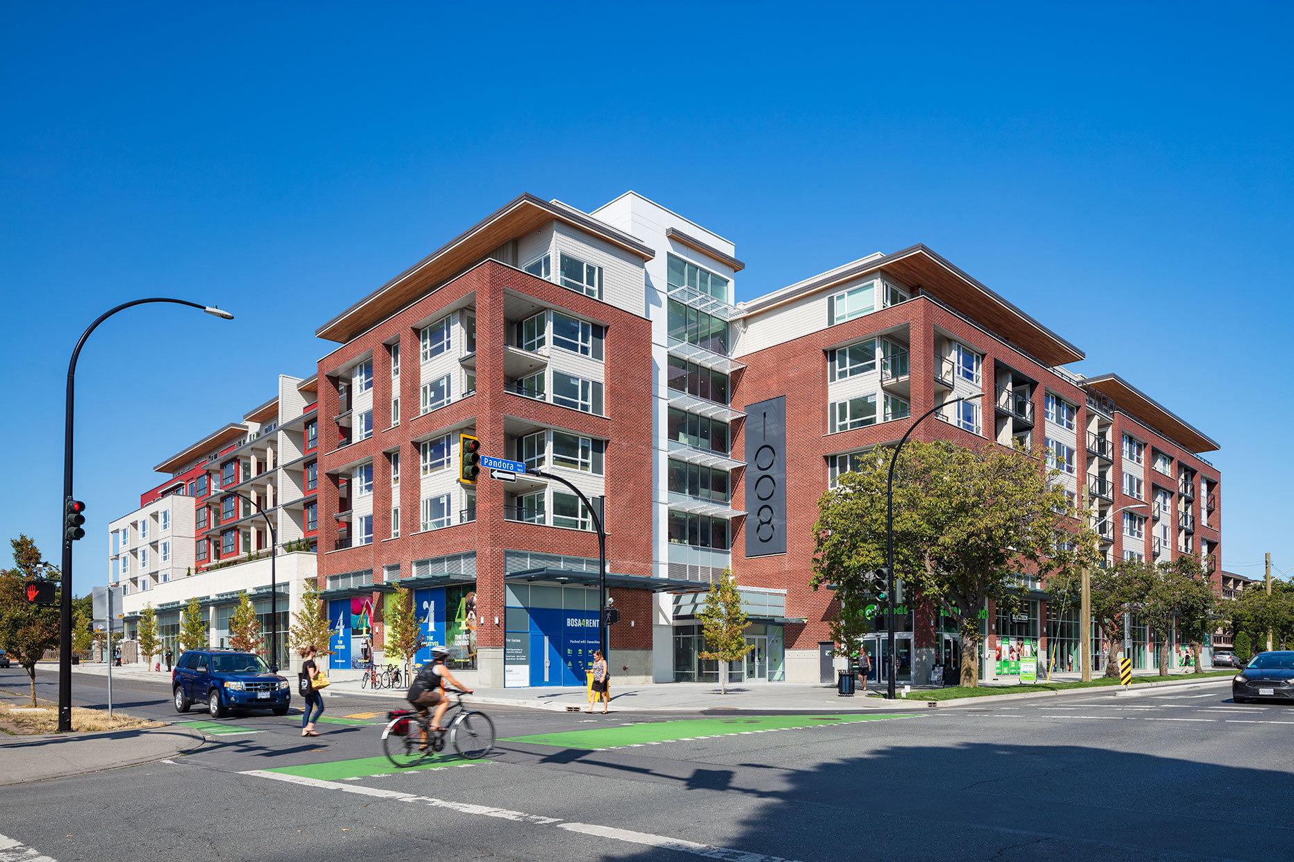 Building Exterior - 1008 Pandora Ave, Victoria, BC V8V 3P5, Canada!