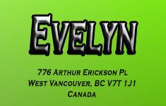 Evelyn 776 ARTHUR ERICKSON V0V 0V0