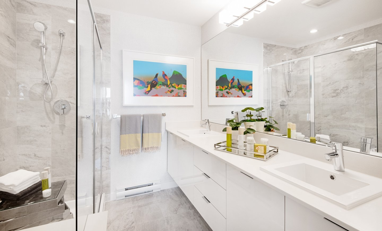 Bathroom - 15111 Edmund Dr, Surrey, BC V3S 0A5, Canada!