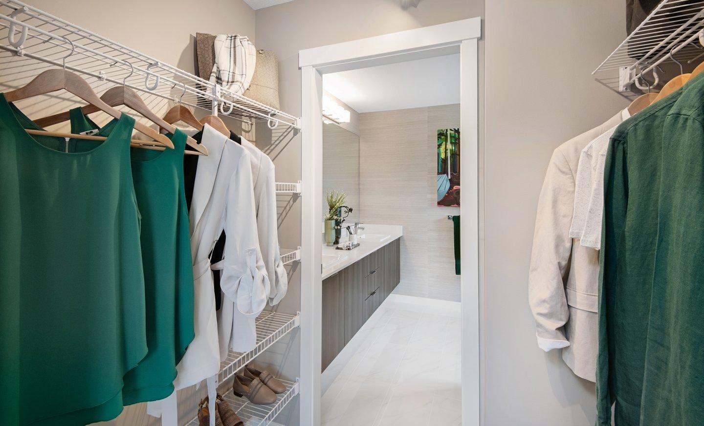 Walk-in Closet & Bathroom - 15111 Edmund Dr, Surrey, BC V3S 0A5, Canada!