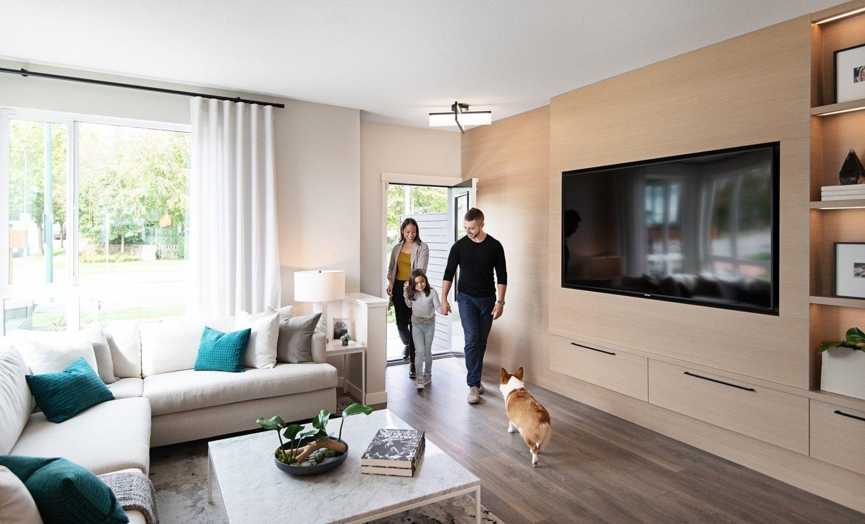 Living Area - 15111 Edmund Dr, Surrey, BC V3S 0A5, Canada!