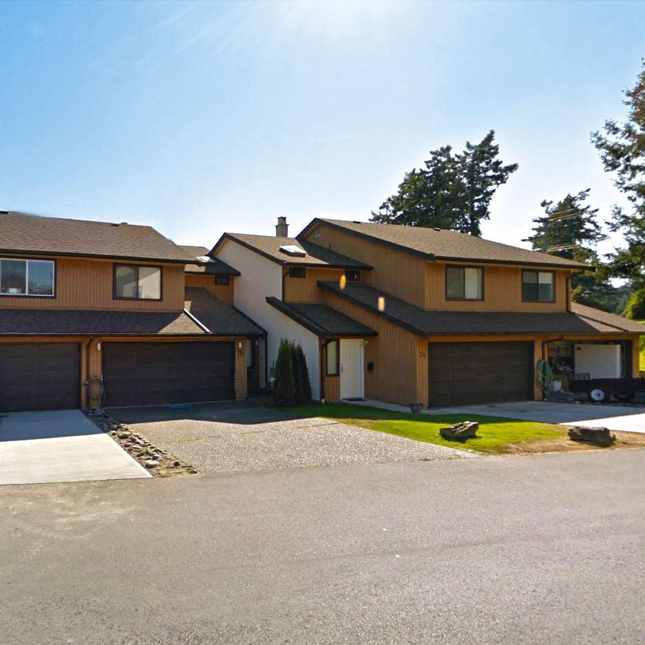 Mt. Newton Estates - 7751 E Saanich Rd - Typical part of the complex!