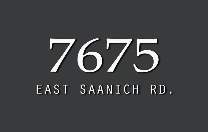 7675 East Saanich 7675 East Saanich V8M 1L9