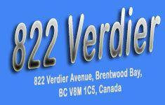 822 Verdier 822 Verdier V8M 1C5