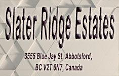 Slater Ridge Estate 3555 BLUE JAY V2T 6N7