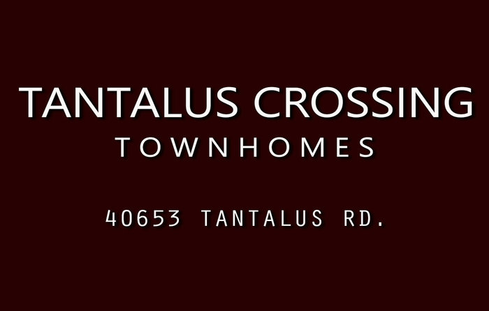 Tantalus Crossing Townhomes 40653 TANTALUS V0N 3G0
