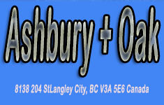 Ashbury + Oak 8138 204 V3A 5E6