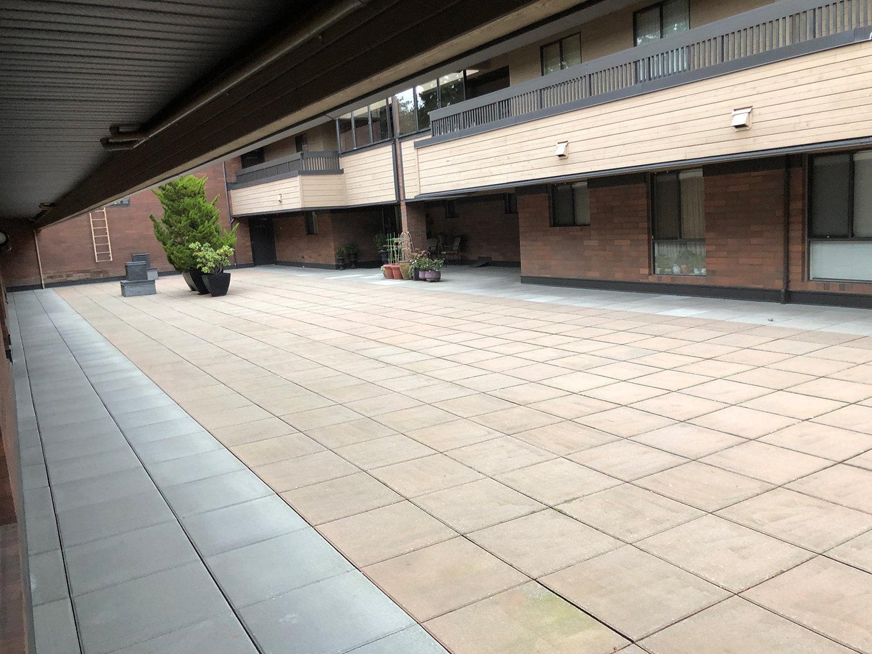 Langara Court Courtyard!