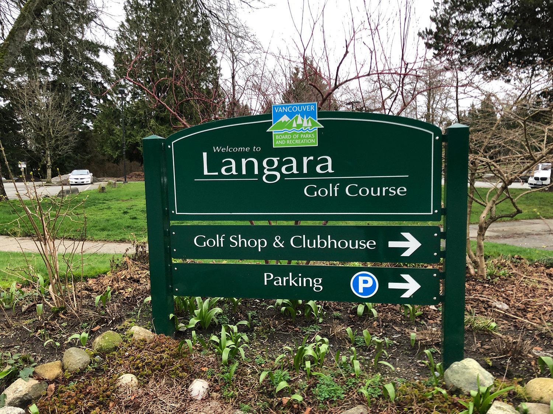 langara Golf Course!