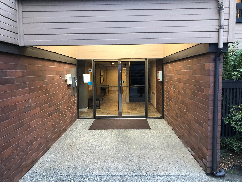 Langara Court Entrance!