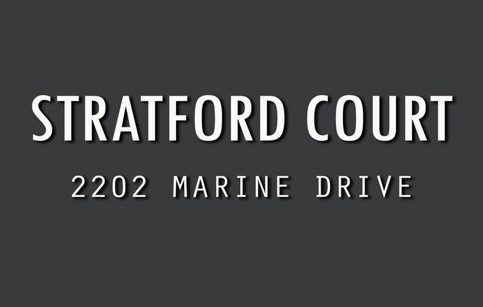 Stratford Court 2202 MARINE V7V 1K4