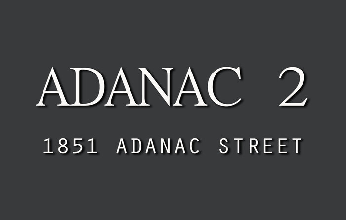 Adanac 2 1851 ADANAC V5L 2E1