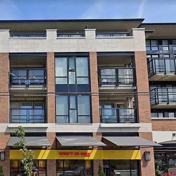 Century - 4550 Fraser St. - Typical part of the complex!