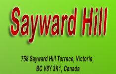 Sayward Hill 758 Sayward Hill V8Y 3K1