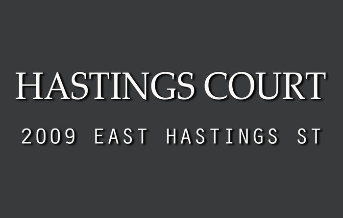 Hastings Court 2009 HASTINGS V5L 1T9