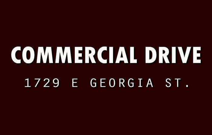 Commercial Drive 1729 GEORGIA V5L 2B3
