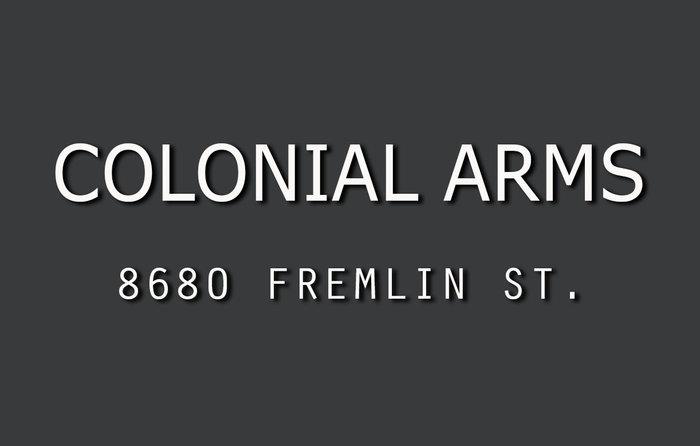Colonial Arms 8680 FREMLIN V6P 3X3