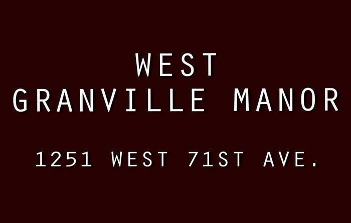 West Granville Manor 1251 71ST V6P 3A9