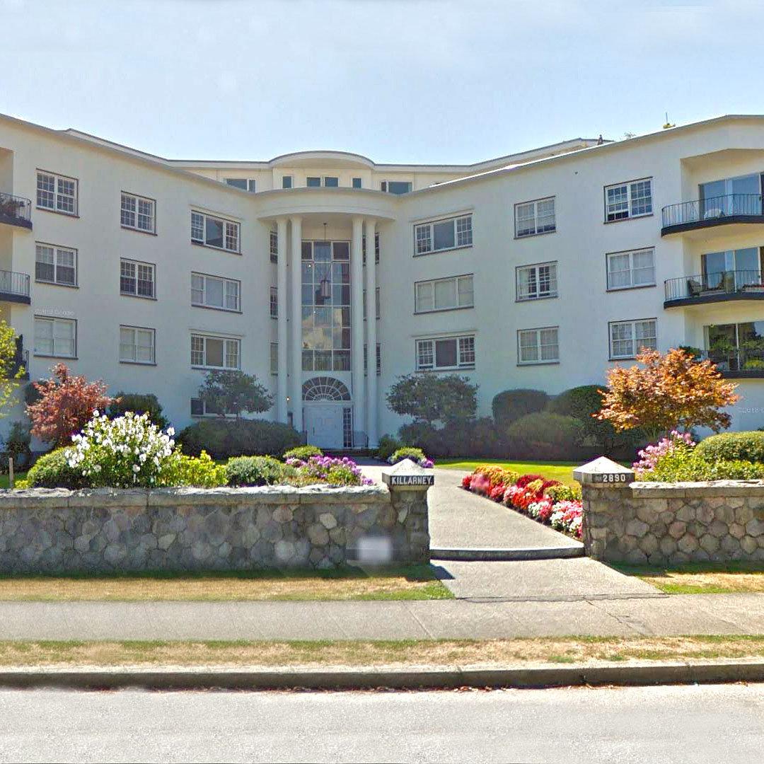 Killarney Manor at 2890 Point Grey Road!