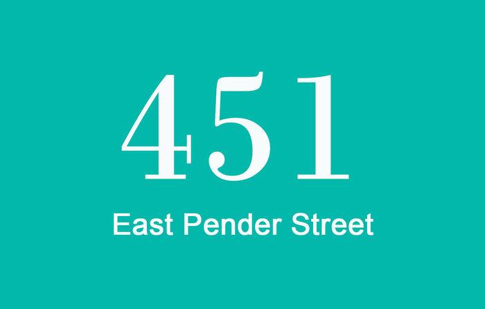 451 East Pender 451 PENDER V6A 1V2