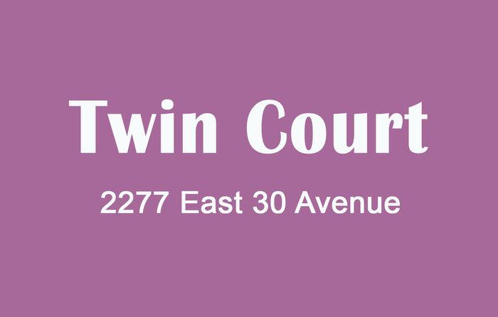 Twin Court 2277 30TH V5N 5N1