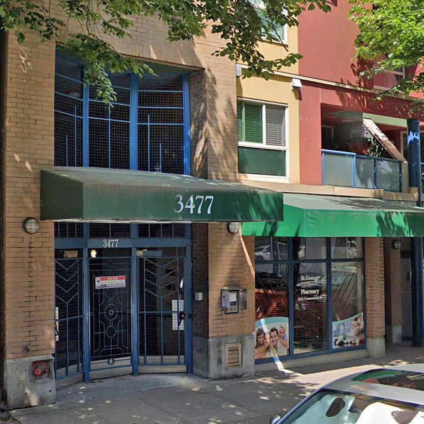 La Villa - 3477 Commercial Street - Typical part of the building!