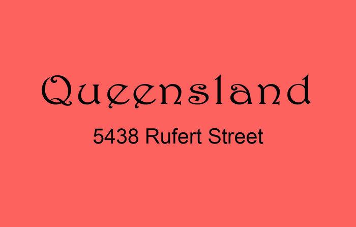 Queensland 5438 RUPERT V5R 2K3