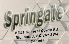 Springate 8611 GENERAL CURRIE V6Y 3W4