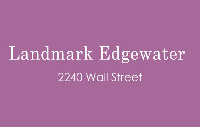 Landmark Edgewater 2240 WALL V5L 1B6
