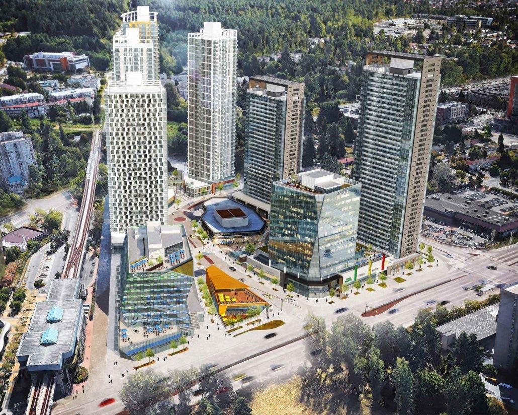Aerial View of King George Hub!