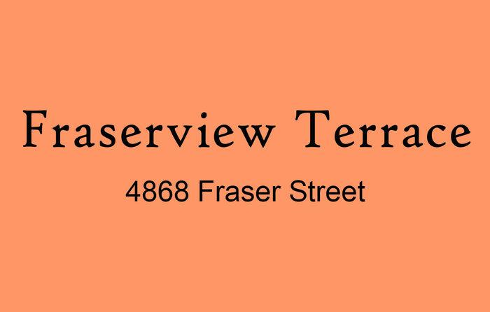 Fraserview Terrace 4868 FRASER V5V 4H5