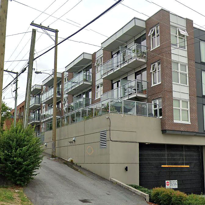 View388 at 388 Kootenay Street - Typical part of the building!