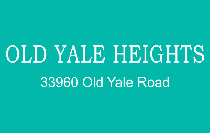 Old Yale Heights 33960 OLD YALE V2S 2J9
