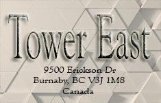 Tower East 9500 Erickson V3J 1M8