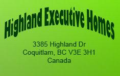 Highland Executive Homes 3385 Highland V3E 3H1