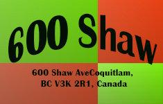 600 Shaw 600 Shaw V3K 2R1