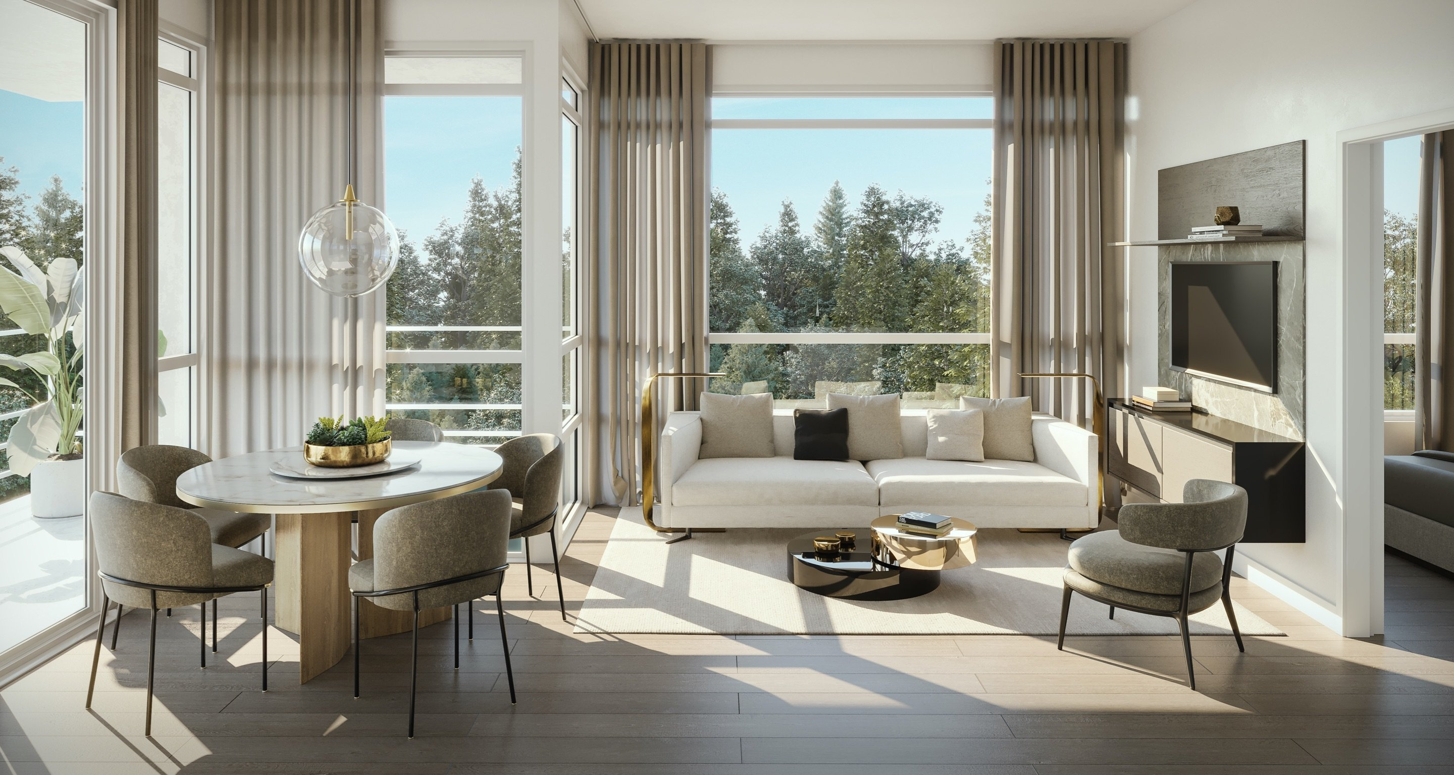Living Area - 2225 Acadia Road, Vancouver, BC V6T 1R7, Canada!