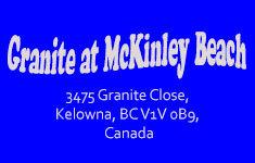 Granite at McKinley Beach 3475 Granite Close V1V 0B9