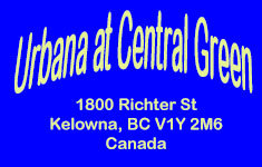 Urbana at Central Green 1800 Richter V1Y 2M6