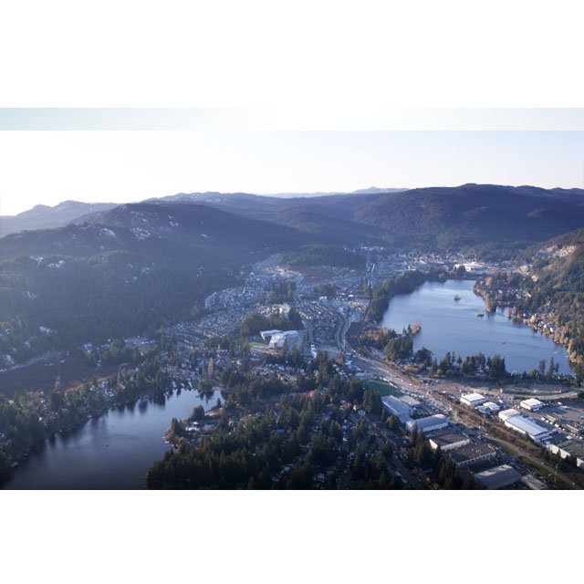 Crossing at Belmont - 945 Reunion Avenue, Langford - Aerial view!