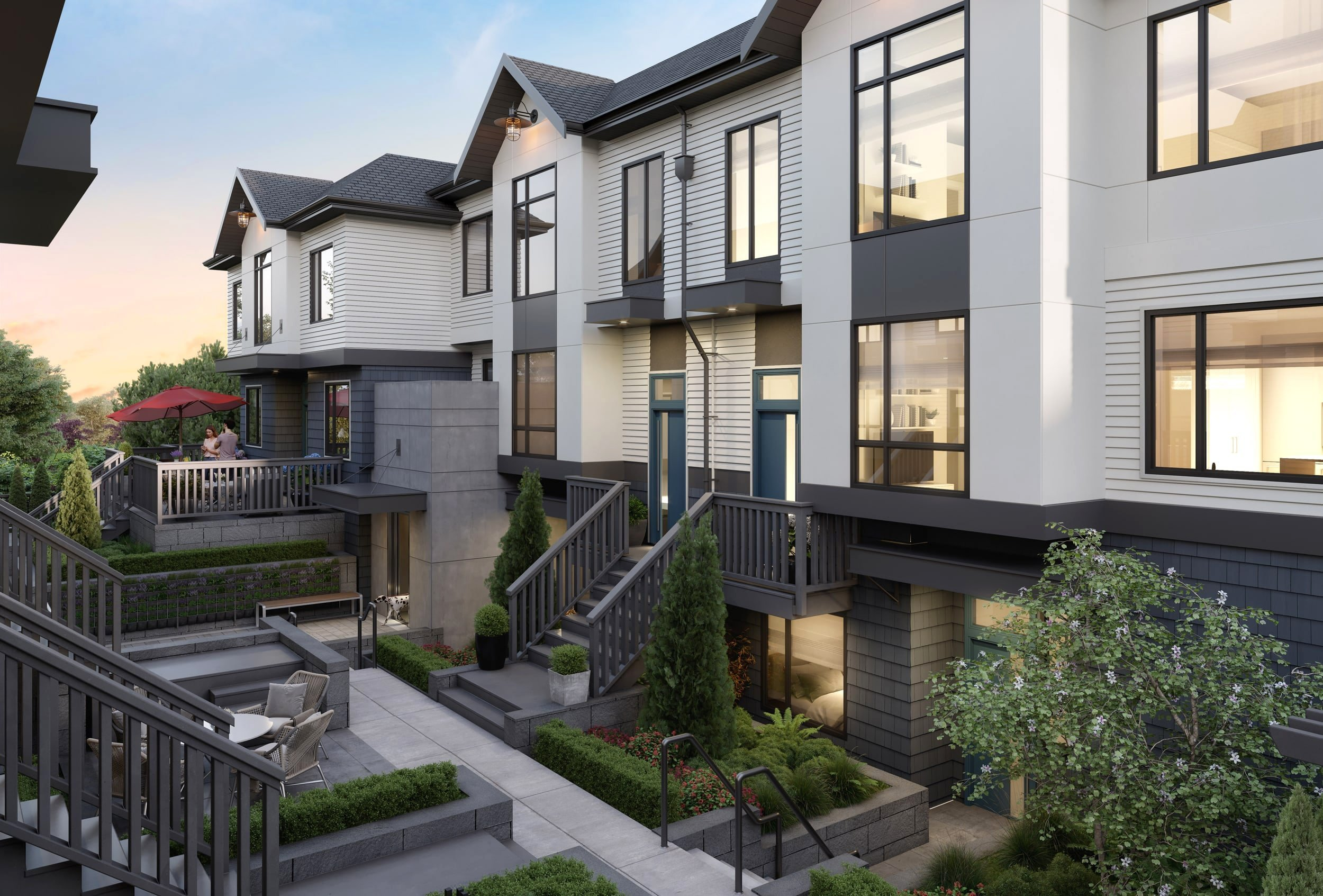 Courtyard - 188 West King Edward Ave, Vancouver, BC V5Y 2H9, Canada!