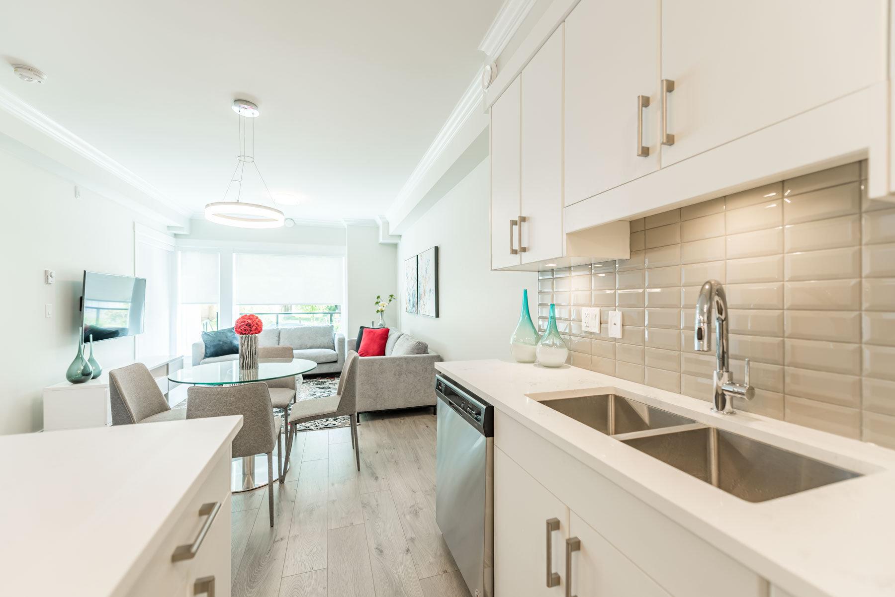 Aspire Living - 13799 101st Ave - Kitchen!