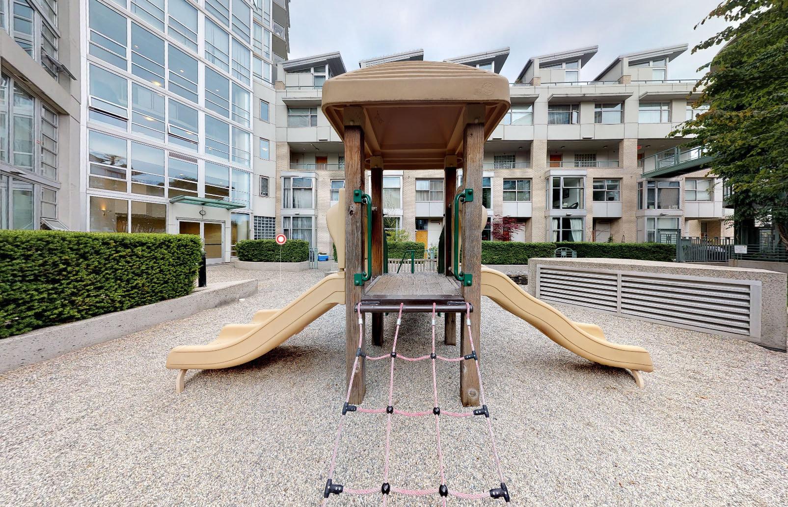 Crestmark II at 1228 Marinaside Crescent - Playground!