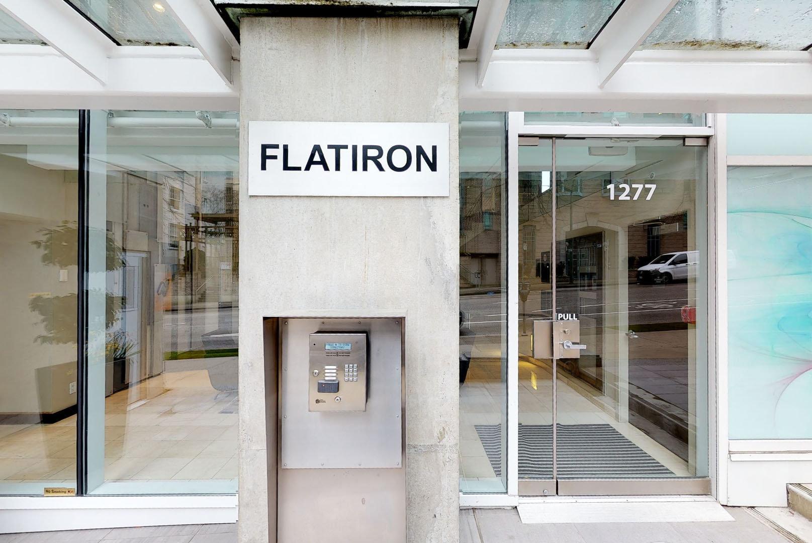 Flatiron - 1277 Melville St - Entrance!